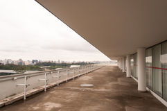 Paesaggio del terrazzo Fotografie Stock Libere da Diritti
