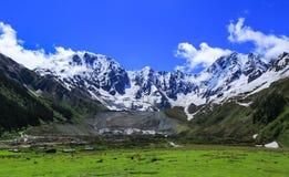 Paesaggio del Tibet immagini stock