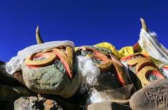 Paesaggio del Tibet Immagini Stock Libere da Diritti