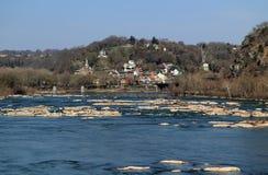 Paesaggio del traghetto dei Harpers fotografie stock libere da diritti