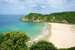 Paesaggio del Vietnam, spiaggia, montagna, ecologia, viaggio fotografia stock