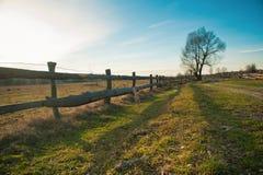 Paesaggio del villaggio Fotografia Stock Libera da Diritti