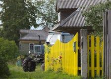 Paesaggio del villaggio di estate Fotografia Stock Libera da Diritti