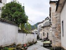 Paesaggio del villaggio di Hongcun, Cina Immagine Stock Libera da Diritti