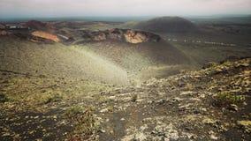 Paesaggio del vulcano Fotografia Stock