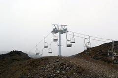 Paesaggio del vulcano dell'Etna immagini stock libere da diritti