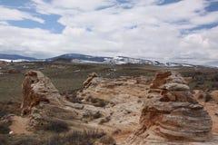 Paesaggio del Wyoming Fotografie Stock Libere da Diritti