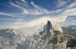 Paesaggio del Yosemite immagine stock