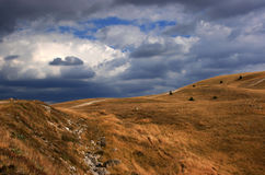 Paesaggio dell'Abruzzo Fotografia Stock Libera da Diritti