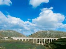 Paesaggio dell'Abruzzo Fotografie Stock Libere da Diritti