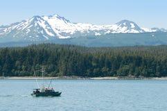 Paesaggio dell'Alaska Fotografia Stock Libera da Diritti