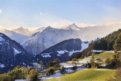 Paesaggio dell'alpe Fotografia Stock Libera da Diritti