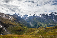 Paesaggio dell'alta montagna Immagini Stock Libere da Diritti