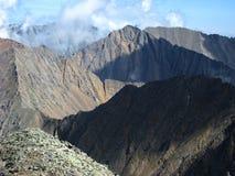 Paesaggio dell'alta montagna Fotografia Stock Libera da Diritti