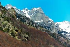 Paesaggio dell'alta montagna, montagne di Rila Immagine Stock Libera da Diritti