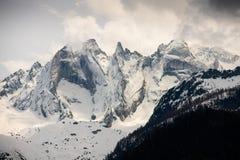 Paesaggio dell'alta montagna per stampa della mobilia Fotografia Stock Libera da Diritti