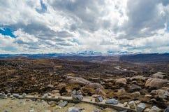 Paesaggio dell'altopiano Fotografie Stock