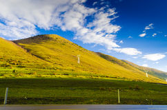 Paesaggio dell'altopiano Fotografia Stock Libera da Diritti