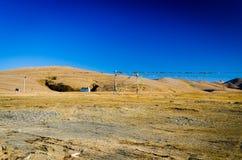 Paesaggio dell'altopiano Fotografia Stock