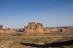 Paesaggio dell'americano del deserto Immagine Stock