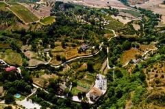 Paesaggio dell'Andalusia Fotografia Stock Libera da Diritti