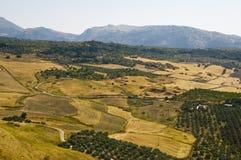 Paesaggio dell'Andalusia Fotografie Stock Libere da Diritti