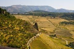 Paesaggio dell'Andalusia Fotografie Stock