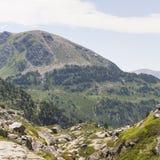 Paesaggio dell'Andorra Fotografia Stock