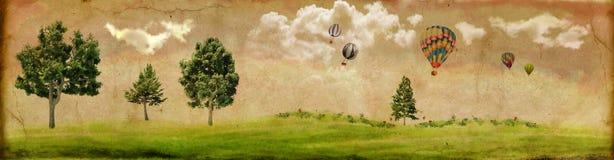 Paesaggio dell'annata Immagini Stock