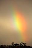 Paesaggio dell'arcobaleno Fotografia Stock