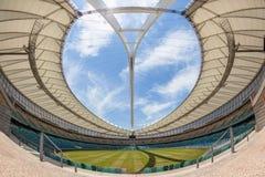 Paesaggio dell'arena dell'entrata dello stadio di football americano Immagine Stock