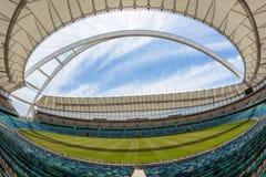 Paesaggio dell'arena dell'entrata dello stadio di football americano Fotografia Stock Libera da Diritti