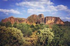 Paesaggio dell'Arizona Fotografia Stock