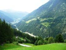Paesaggio dell'Austria Fotografia Stock