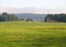 Paesaggio dell'azienda agricola Fotografia Stock Libera da Diritti