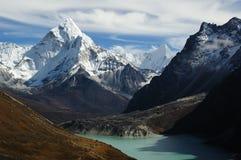 Paesaggio dell'Himalaya fotografia stock libera da diritti