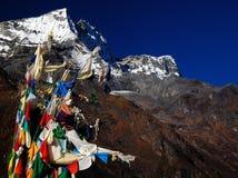 Paesaggio dell'Himalaya fotografia stock