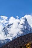 Paesaggio dell'Himalaya nel Nepal Fotografie Stock