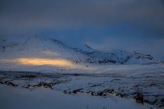 Paesaggio dell'Islanda Immagini Stock