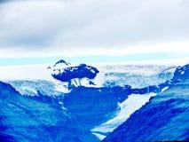 Paesaggio dell'Islanda con il ghiacciaio 2017 di Skaftafell Fotografia Stock