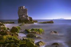 Paesaggio dell'isola Immagini Stock