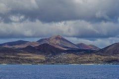 Paesaggio dell'isola di ascensione fotografia stock