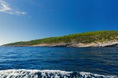 Paesaggio dell'isola di Brac Fotografia Stock Libera da Diritti