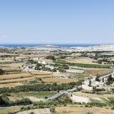 Paesaggio dell'isola di Malta Fotografia Stock Libera da Diritti