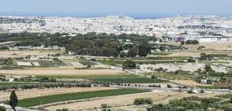 Paesaggio dell'isola di Malta Immagine Stock