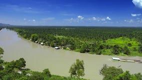 Paesaggio dell'isola di Samui, Tailandia del sud fotografie stock libere da diritti