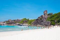 Paesaggio dell'isola di Similan Immagine Stock Libera da Diritti