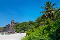 Paesaggio dell'isola di Similan Immagine Stock