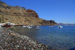 Paesaggio dell'isola di Thirassia Fotografie Stock Libere da Diritti