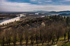 Paesaggio dell'Italia fotografie stock libere da diritti